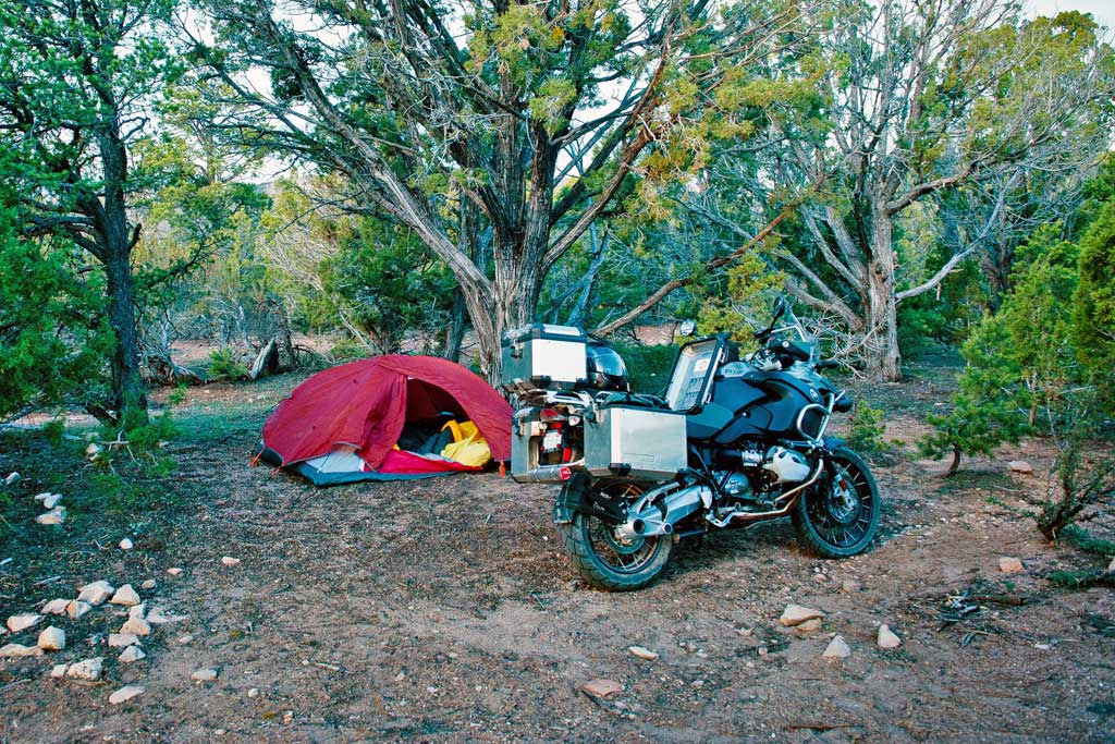 Tips for Trouble-Free Motorbike-Camping