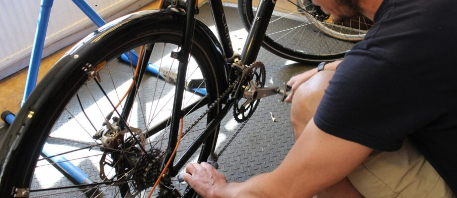 Learning How To Service a Bike At Home